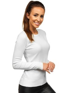 Bílý dámský svetr Bolf AL0205L