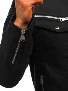 Černá pánská přechodová bunda Bolf 3613