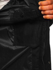 Černá pánská sportovní zimní bunda Bolf 1975
