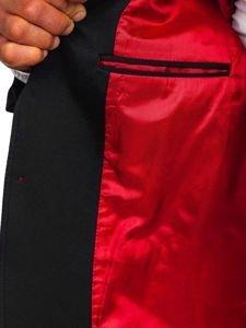 Černé pánské elegantní sako Bolf RBR406
