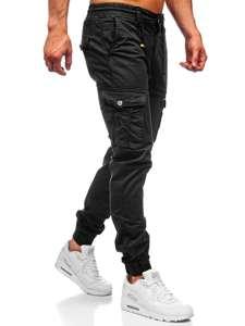 Černé pánské jogger kapsáče Bolf CT6703