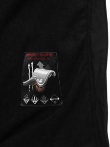 Černo-oránžová pánská softshellová bunda Bolf 12266