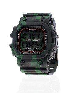 Černo-zelené pánské hodinky Bolf 8332