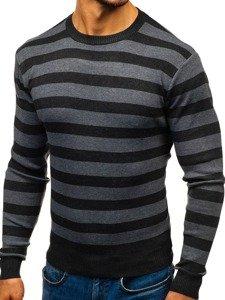 Černý pánský svetr Bolf BM6129