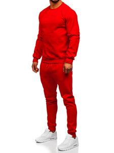 Červená pánská tepláková souprava Bolf D001