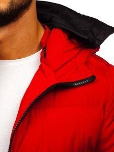 Červená pánská zimní bunda Bolf 5974