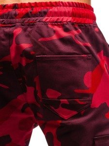 Červené pánské kapsáče Bolf 0857
