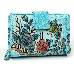 Dámská vícebarevná kožená peněženka 3073