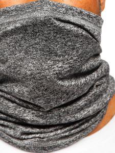 Grafitový pánský šátek Bolf YW0502M