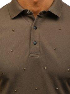 Khaki pánská polokošile Bolf 2056