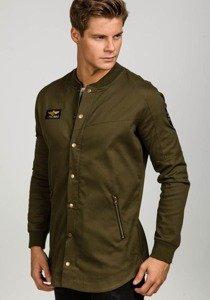 Khaki pánská přechodová bunda Bolf 0781