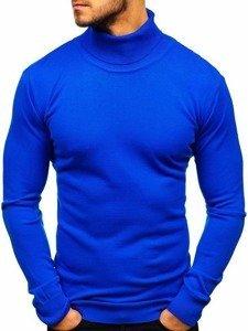 Královsky modrý pánský rolák Bolf 2400