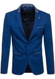 Modré pánské elegantní sako Bolf RBR156