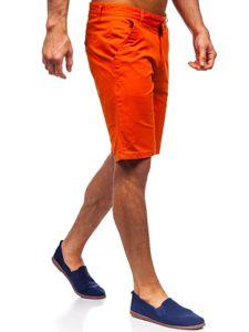 Oranžové pánské kraťasy Bolf 1140