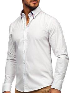 Pánská košile BOLF 2705 bílá