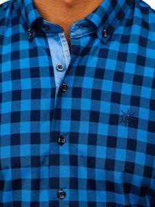 Pánská košile BOLF 4508 modrá
