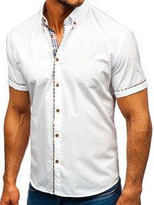 Pánská košile BOLF 5509-1 bílá