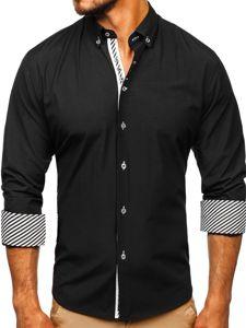 Pánská košile BOLF 5796 černá