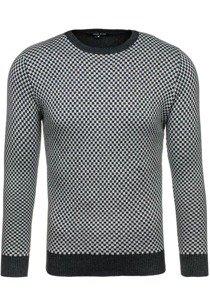 Pánský šedý svetr Bolf 7006