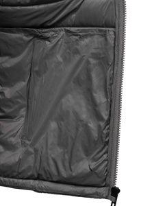 Šedá pánská prošívaná zimní bunda Bolf 1119