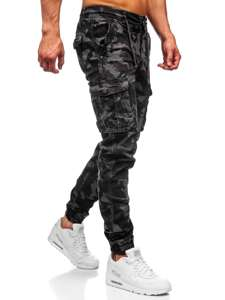 Šedé pánské jogger kapsáče Bolf CT6018