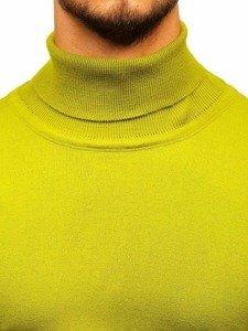 Světle zelený pánský rolák Bolf 2400