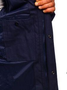 Tmavě modrá pánská sportovní zimní bunda Bolf 1975