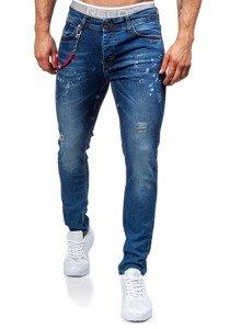 Tmavě modré pánské džíny Bolf 303