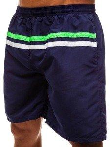 Tmavě modré pánské koupací šortky Bolf Y765