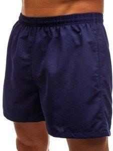 Tmavě modré pánské koupací šortky Bolf Y769