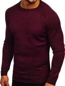 Vínový pánský svetr Bolf H1929
