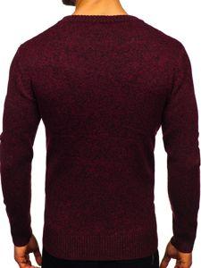 Vínový pánský svetr Bolf H1937