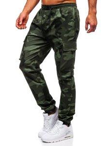 Zelené pánské jogger kapsáče Bolf 702