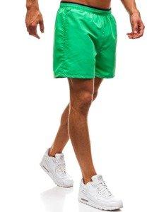 Zelené pánské koupací šortky Bolf Y768