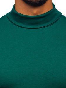 Zelený pánský rolák bez potisku Bolf 145347