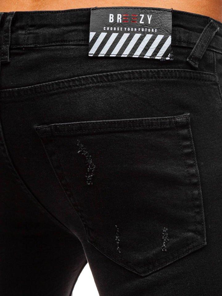 351fb86ece0 Černé pánské džíny Bolf 8007
