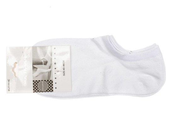 5900c5193bf Bílé pánské nízké ponožky Bolf 80016 2 PACK